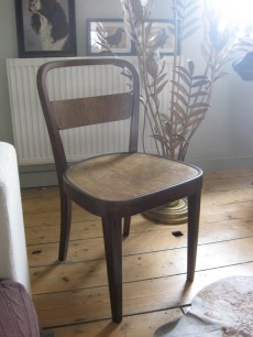 Walnut Thonet chairs
