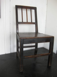 Late Georgian chairs