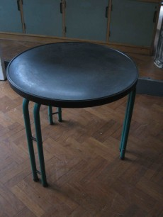 English deco side table