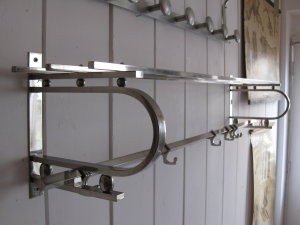 Chrome deco coat hooks
