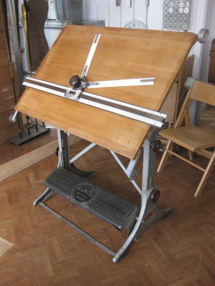 Admel drawing board pigeon vintage furniture for The drawing board