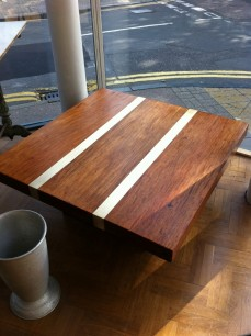 Stunning 70's coffee table