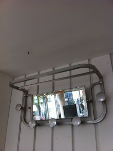 Vintage French Deco coat rack