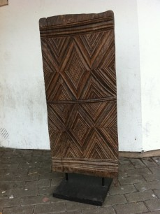Decorative tribal door panel
