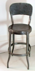 Early industrial machinists stool