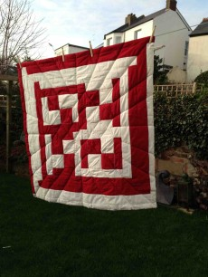 Handmade Geometric Quilts