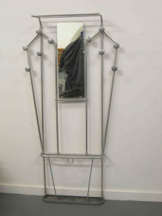 Vintage deco coat rack