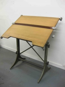 Vintage drawing board