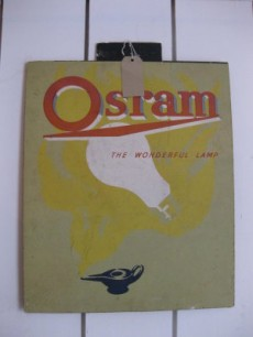 Osram advertising sign